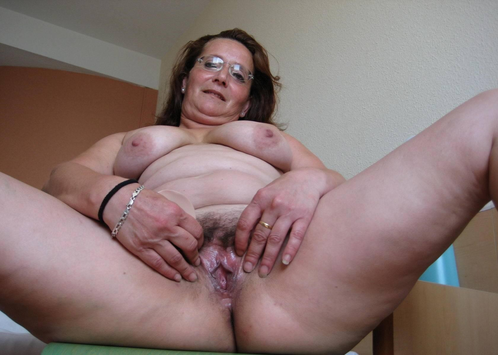 Old granny pussy panties