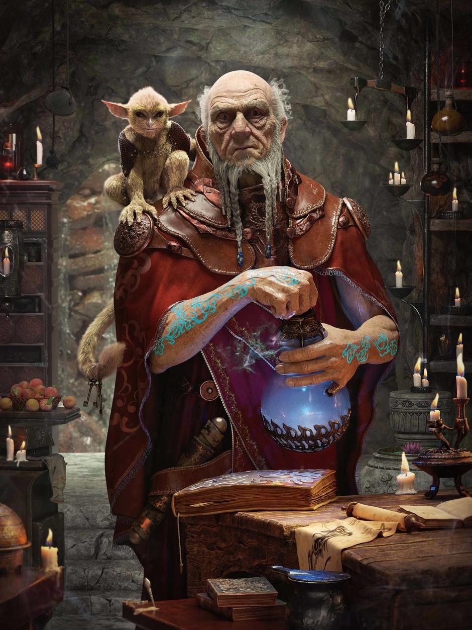 fantasy illusionists magus utopia - 736×981